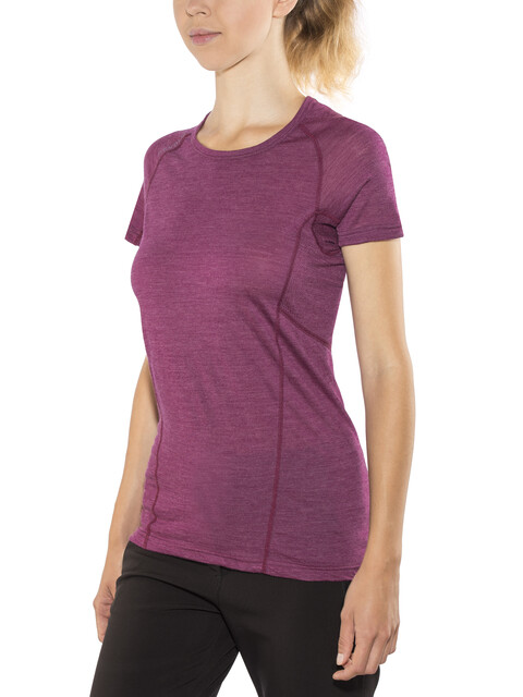 Devold W's Running T-Shirt Plum